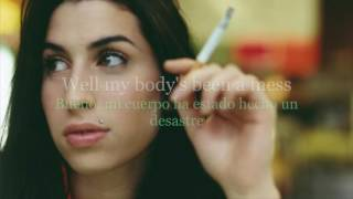 Amy Winehouse - Valerie (Lyrics English & Spanish)(Letra Inglés y Español)