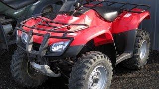 7. 2012 Honda Recon TWINS
