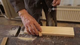 Bútortest (korpusz) készítése fecskefark kötéssel