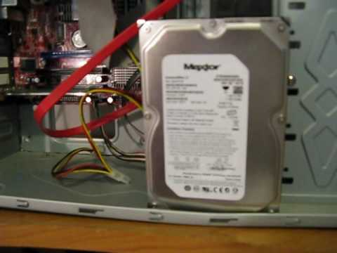 Maxtor hard disk making noise