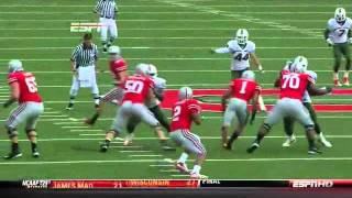Sean Spence vs Ohio State