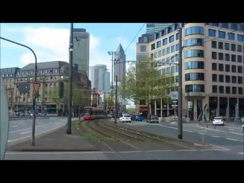 Straßenbahn Frankfurt (Main) 06.04.2014 (видео)