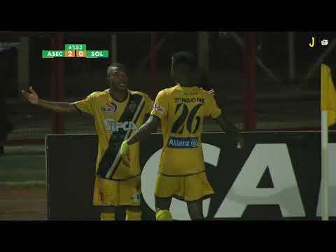 Ligue 1  J18 ASEC Mimosas - Sol FC (Résumé)