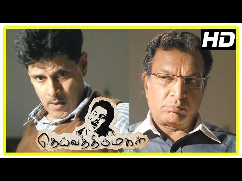 Video Vikram Latest Tamil Movie | Vikram takes care of Nasser's son | Deiva Thirumagal Movie Scenes download in MP3, 3GP, MP4, WEBM, AVI, FLV January 2017