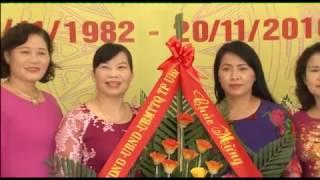 Đồng chí Hoàng Thị Hà, Phó Bí thư Thường trực Thành ủy chúc mừng Ngày Nhà giáo Việt nam 20-11