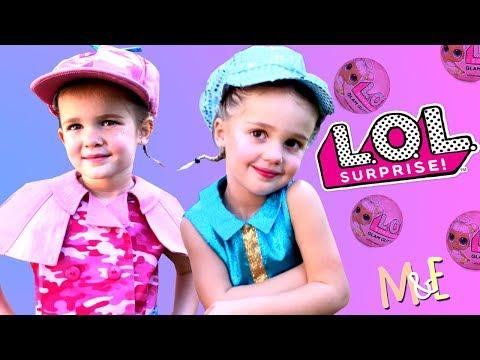 LOL SURPRISE DOLLZ FASHION SHOW! | MILA & EMMA