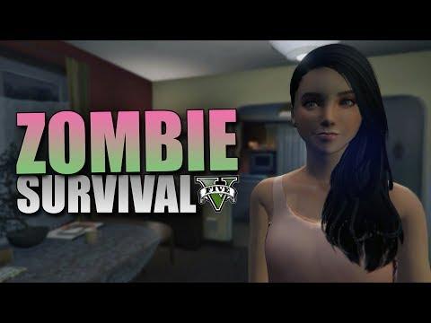 GTA 5 Mod Zombie Survival - MAGGIE !! - Part 2 (видео)