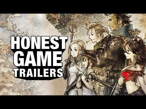 OCTOPATH TRAVELER (Honest Game Trailers)