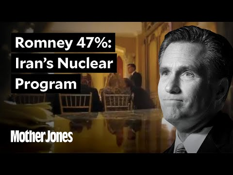 Mitt Romney on Iran's Nuclear Program