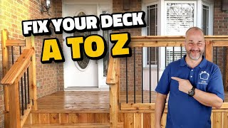 How to Fix Your Deck | A to Z