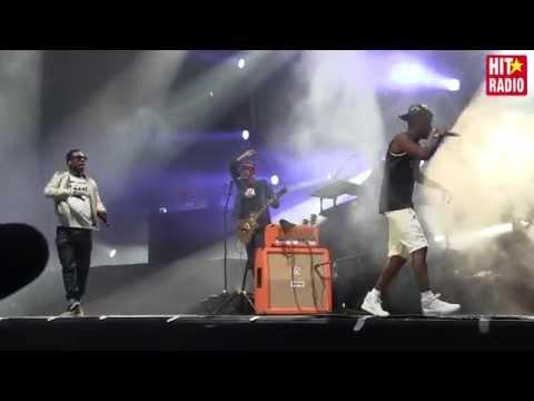 Extraits concert Black M à Mawazine 2015 sur HIT RADIO