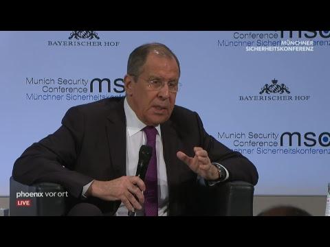 55. Münchner Sicherheitskonferenz am 16.02.19 (Teil 2 ...