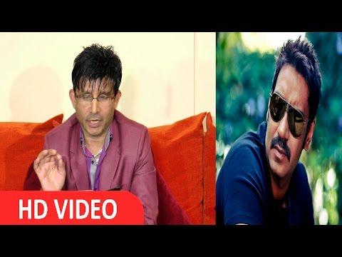 KRK Amezing reply to Ajay Devgan