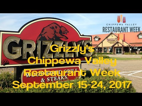 Grizzlys Wood Fired Grill And Steaks - Chippewa Valley Restaurant Week - Eau Claire WI - Sept 2017