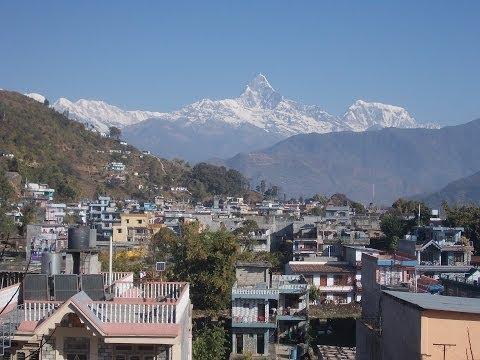 www.tnepal.com - Pokhara ist die zweitgrößte Stadt Nepals, von hier aus bietet sich eine außergewöhnliche Aussicht auf den nahen Himalaja mit den drei Achttausendern Dhaulagi...