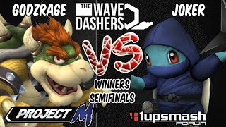 From São Paulo, Brazil – The Wavedashers Project M 3.5 Winners Final – Joker [Squirtle] vs Godzrage [Bowser]