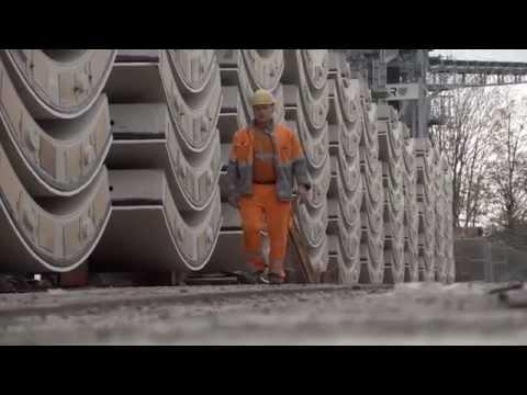 Tübbinge für den Fildertunnel