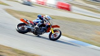 Vic Spain  city photos : Russian sliding with KTM 450 SMR in Circuit d'Osona, Vic, Spain
