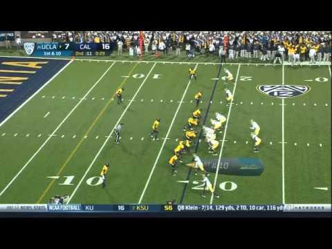 Kameron Jackson intercepts pass vs UCLA 2012 video.