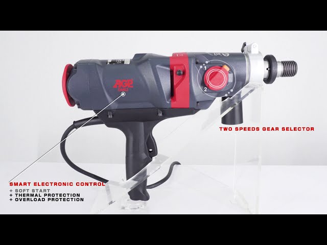 AGP DM62 - 2 speed Dry drill motor - Overview