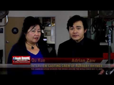 "Suab Hmong E-News: Interview Adrian Zaw & Alina Chorna, in the movie ""Nursery Rhymes"""