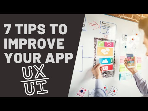 🚀7 tips to improve UX/UI of your app   free tools and techniques