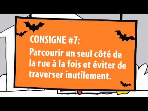 Web �pisode 7 de L�on - Les consignes de s�curit� pour l'Halloween
