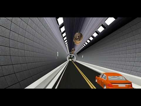 현무암-소굴(터널)