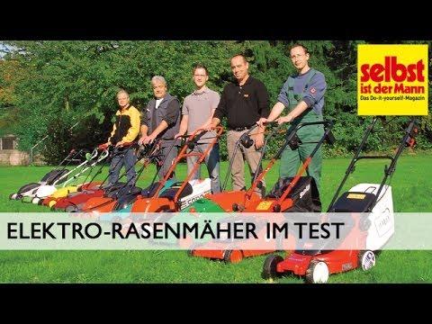 Elektro-Rasenmäher im Test
