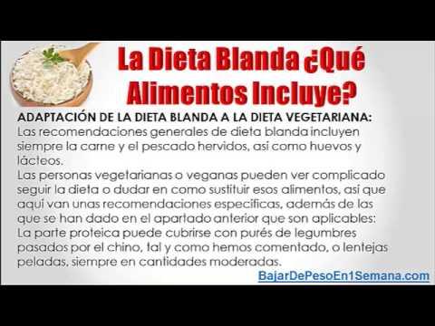 Dietas blandas videos videos relacionados con dietas blandas - Alimentos de una dieta blanda ...