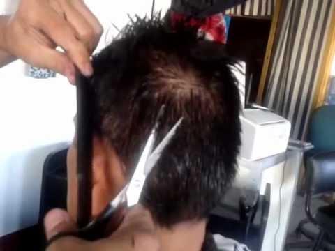 Corte básico tijera hombre