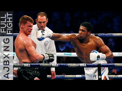 Full Fight | Anthony Joshua Vs Alexander Povetkin KO