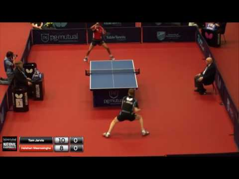 2017 PG Mutual National Championships - Tom Jarvis vs Helshan Weerasinghe