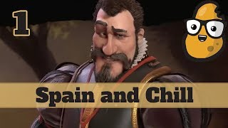 Video Civ 6 Spain Ep. 1 Let's Play - Emperor and Chill MP3, 3GP, MP4, WEBM, AVI, FLV Januari 2018