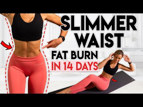 SLIMMER WAIST and LOSE LOWER BELLY FAT in 14 Days | 10 min Workout