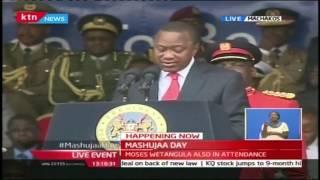 President Uhuru Kenyatta's full speech on Mashujaa Day