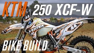3. 2015 KTM 250 XCF-W Build