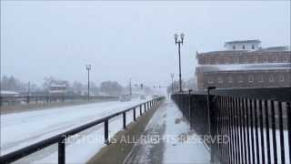 Independence (IA) United States  city photo : HEAVY SNOWFALL.....Independence, Iowa **1080p HD**