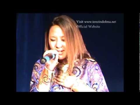Tenzin Dolma Toronto concert 2012- Tibetan song-Nyayi Lama Tenzin Gyatso