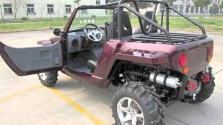 4. HUVUR Motors 800cc Tango 4x4 EFI 5 SPEED DOHC UTV Dune Buggy Canada 2011 HD Trailer