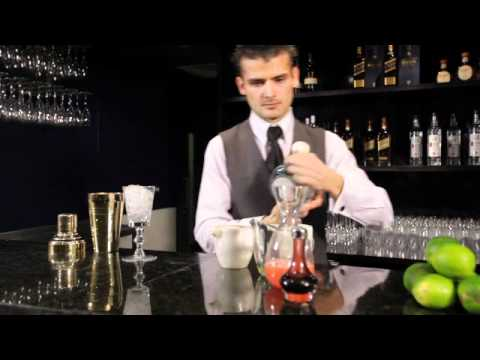 World-class bartender Erik Lorincz demonstrates the Jalisko Sour