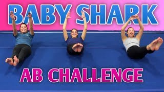 Video We Tried the Baby Shark Ab Challenge MP3, 3GP, MP4, WEBM, AVI, FLV November 2018