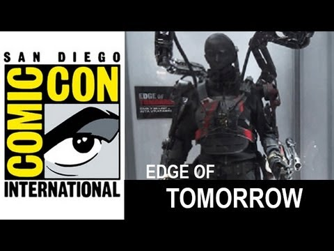 Edge of Tomorrow 2014 Battle Costumes at Comic Con - Beyond The Trailer