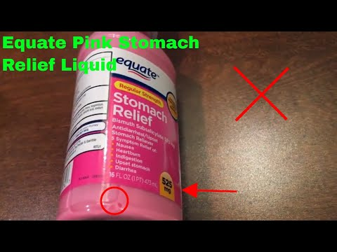 ✅  How To Use Equate Pink Stomach Relief Liquid Review