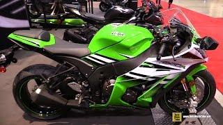 8. 2015 Kawasaki Ninja ZX-10R - Walkaround - 2015 Toronto Motorcycle Show