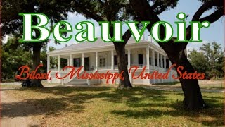 Biloxi (MS) United States  city photos : Visit Beauvoir, Biloxi, Mississippi, United States