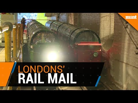 Underground 'Mail Rail' reopens as London tourist attraction