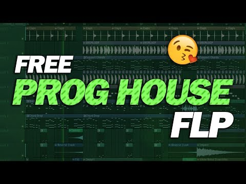 Free Prog House FLP: by EDGR [Only for Learn Purpose] (видео)