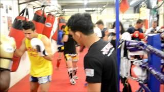 Saenchai & Pakorn Seminar at Hanuman Thai Boxing Gym
