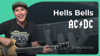 How to play Hells Bells by AC/DC (Guitar Lesson SB-314)